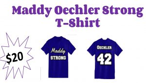 Maddy Oechler Strong T-shirt $20