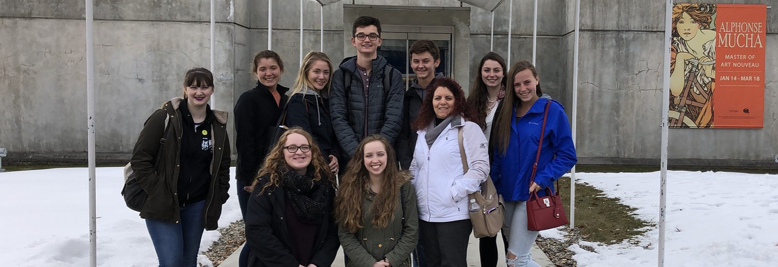 Students experience French art and food during field trip
