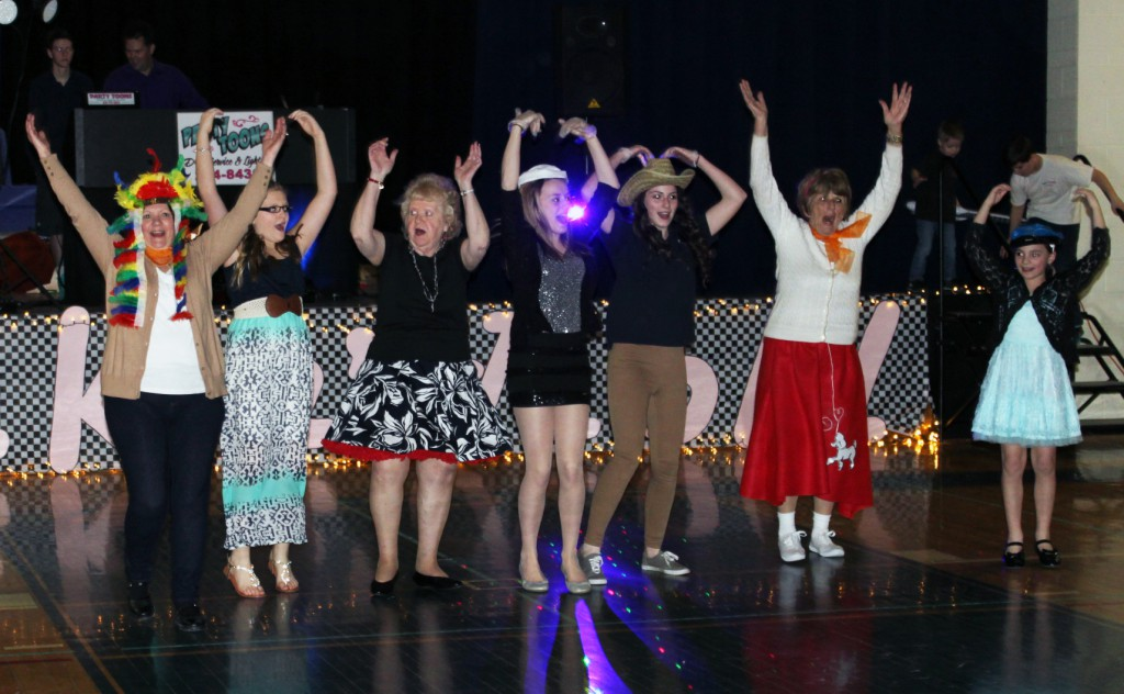 Broadalbin-Perth students organize an annual Senior Citizens Ball.