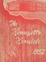 1952 Broadalbin High School yearbook
