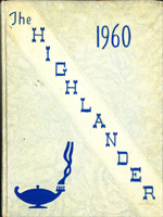 1960 Perth High School yearbook