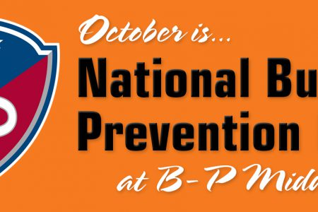 BPMS makes plans for National Bullying Prevention Month