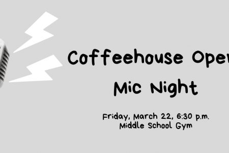 Coffeehouse Open Mic Night to support B-P elementary drama club production