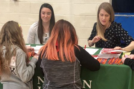 Middle schoolers explore colleges and careers during annual fair