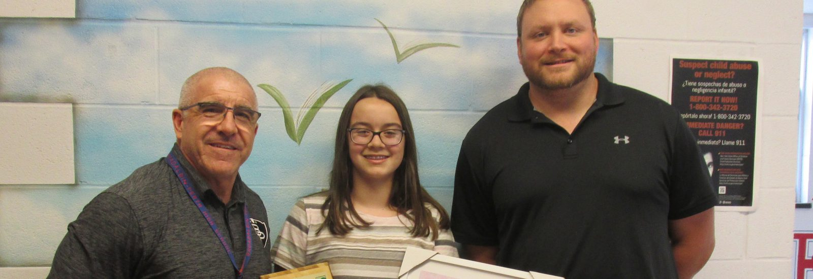Seventh-grader Lauryn Donahue wins state-wide poster contest