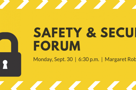 Letter: Parents invited to Safety & Security Forum