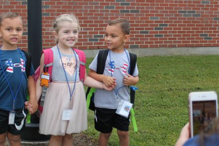 First day of pre-K: Welcome Class of 2033!