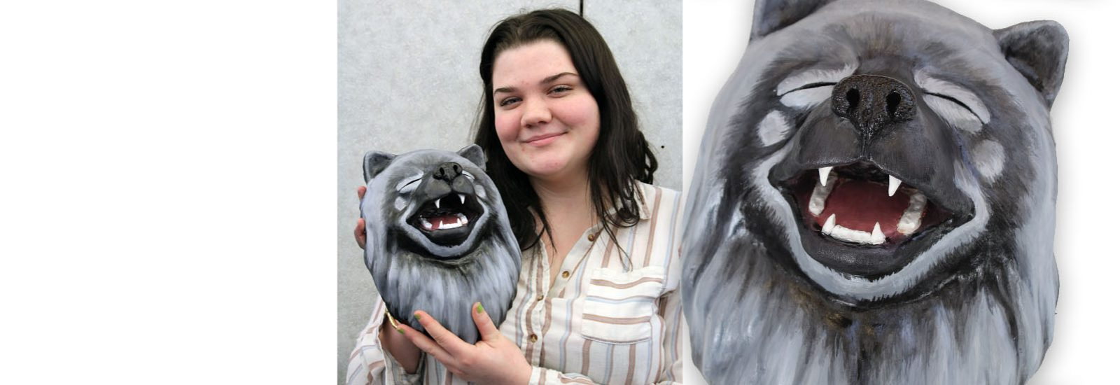 Senior's sculpture selected for juried art show