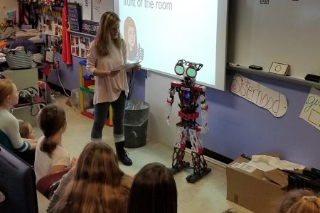 "Robotic ""class pet"" to enhance learning opportunities for BPIS students"