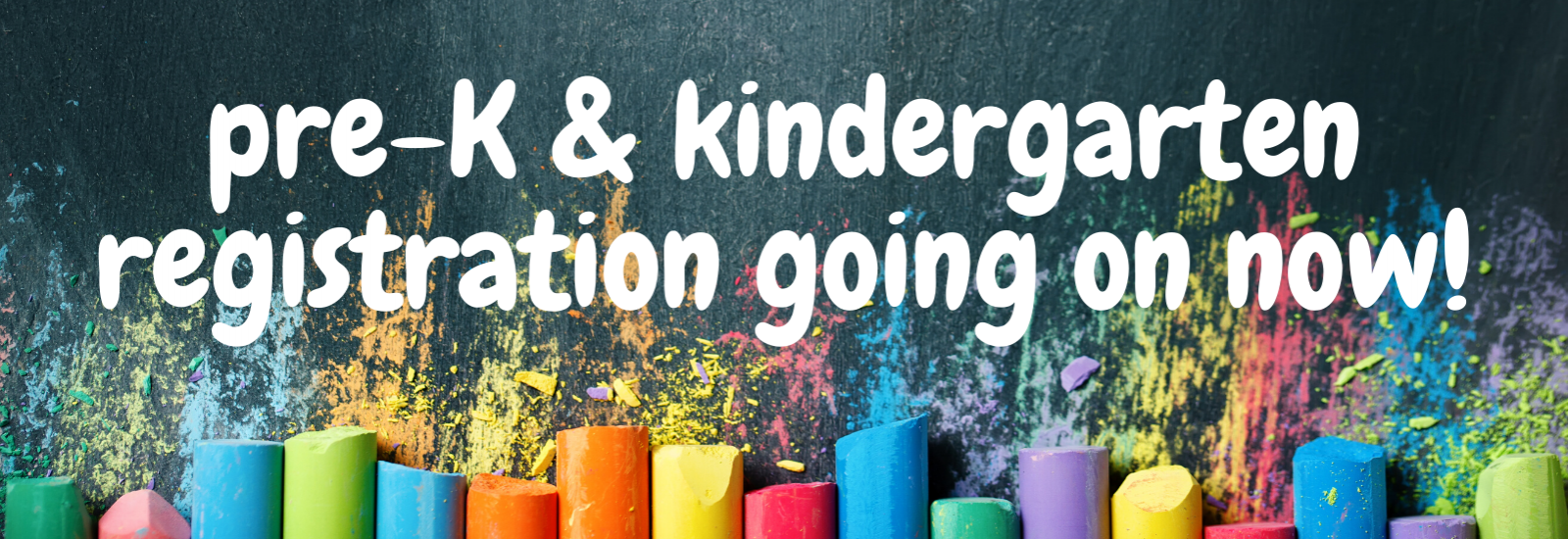 Request a pre-K or kindergarten registration packet today