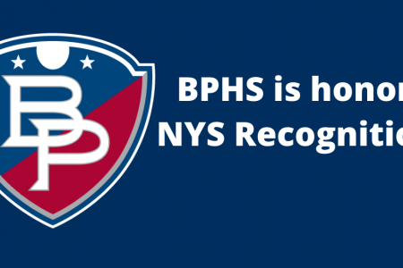 BPHS honored as a Recognition School