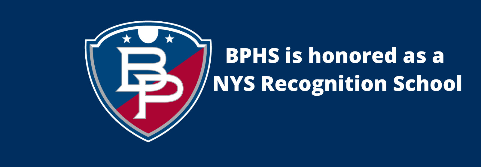 BPHS honored as Recognition School