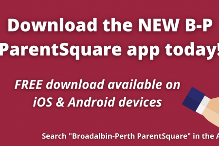District launches NEW B-P branded ParentSquare mobile app
