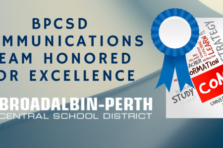 BPCSD Communications Team Honored for Excellence